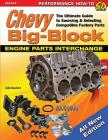 Chevy Big-Block Engine Parts Interchange: The Ultimate Guide to Sourcing and Selecting Compatible Factory Parts Cover Image