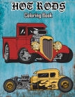 Hot Rods Coloring Book Cover Image
