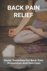 Back Pain Relief: Home Remedies For Back Pain Prevention And Exercises: Pregnancy Back Pain Relief Cover Image