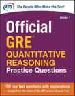 Official GRE Quantitative Reasoning Practice Questions Cover Image