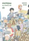 Nichijou,3 Cover Image