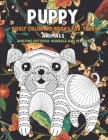Adult Coloring Books for Teens - Animals - Amazing Patterns Mandala and Relaxing - Puppy Cover Image