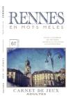 RENNES en mots mêlés: Carnet de Jeux pour adultes - Rennes - Mots cachés - Rennes livre - Rennes activités - Rennes insolite Cover Image