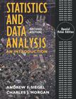 Statistics and Data Analysis: An Introduction Cover Image