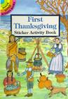 First Thanksgiving Sticker Activity Book (Dover Little Activity Books) Cover Image