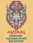 Zendoodle Coloring Books Big Picture - Animal Cover Image