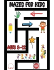 Mazes for Kids Ages 8-12: Stunning Maze Activity Book Exciting Game Levels Design Cover Image