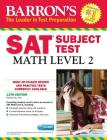 Barron's SAT Subject Test: Math Level 2 with CD-ROM Cover Image