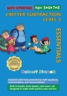 Math Superstars Subtraction Level 3: Essential Math Facts for Ages 5 - 8 Cover Image