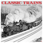 Classic Trains 2021 Wall Calendar Cover Image