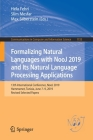 Formalizing Natural Languages with Nooj 2019 and Its Natural Language Processing Applications: 13th International Conference, Nooj 2019, Hammamet, Tun (Communications in Computer and Information Science #1153) Cover Image