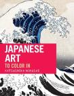 Japanese Art: The coloring book Cover Image