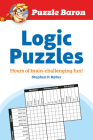 Puzzle Baron's Logic Puzzles: Hours of Brain-Challenging Fun! Cover Image