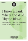 I Know a Bank Where the Wild Thyme Blows Cover Image