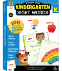 Words to Know Sight Words, Grade K Cover Image
