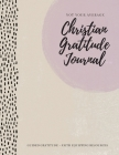 Not Your Average Christian Gratitude Journal: Guided Gratitude + Faith Equipping Resources (Daily Devotional, Gratitude and Prayer Journal for Women) Cover Image