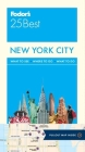 Fodor's New York City 25 Best Cover Image