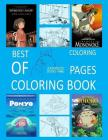 Best of Studio Ghibli Coloring Pages Coloring Book Cover Image