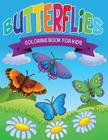 Butterflies Coloring Book for Kids Cover Image