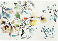 Asian Botanical Thank You Notes Cover Image