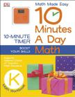 10 Minutes a Day: Math, Kindergarten: Supports National Council of Teachers Math Standards Cover Image