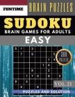 SUDOKU Easy: 300 easy sudoku with answers brain games for adults Activities Book sudoku for seniors (sudoku book easy Vol.21) Cover Image