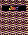 120 Page Handwriting Practice Book with Colorful Alien Cover Joey: Primary Grades Handwriting Book Cover Image