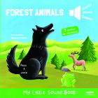 Forest Animals - My Little Sound Book (My Little Sound Books) Cover Image