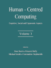 Human-Centered Computing: Cognitive, Social, and Ergonomic Aspects, Volume 3 (Human Factors and Ergonomics) Cover Image
