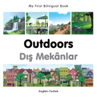 My First Bilingual Book–Outdoors (English–Turkish) Cover Image