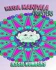 Mega Mandala Monsters: Stress Relieving Monster Patterns (Coloring Book For Adults) Cover Image