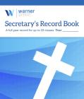 Secretary's Record Book Cover Image