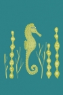 Notes: A Blank Guitar Tab Music Notebook with Cute Seahorse Cover Art Cover Image