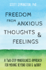 Freedom from Anxious Thoughts and Feelings: A Two-Step Mindfulness Approach for Moving Beyond Fear and Worry Cover Image