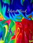 Sketch Book: Large Artistic Creative Colorful Notebook for Drawing, Writing, Painting, Sketching or Doodling - Gift Idea for Artist Cover Image
