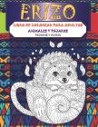 Libro de colorear para adultos - Pájaros y flores - Animales y pájaros - Erizo Cover Image