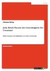 John Rawls Theorie der Gerechtigkeit: Der Urzustand: Fiktive Situation mit Möglichkeit zur realen Umsetzung? Cover Image