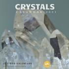 Crystals Calendar 2021: 12 month calendar 2020 - 2021 Cover Image