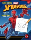Learn to Draw Marvel Spider-Man: Learn to Draw Spider-Man Step by Step! (Learn to Draw Favorite Characters: Expanded Edition) Cover Image