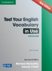 Test Your English Vocabulary in Use Advanced with Answers Cover Image