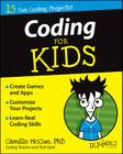 Coding for Kids for Dummies Cover Image