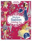 Fabulous Fashion Coloring Fun: With 200 Stickers (Cool & Calm Coloring for Kids) Cover Image