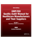 Gmp/ISO Quality Audit Manual for Healthcare Manufacturers and Their Suppliers, (Volume 2 - Regulations, Standards, and Guidelines): Regulations, Stand Cover Image