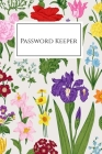 Password Keeper: Internet Password Book with Tabs, Password Organizer Large Print, Password Logbook Small 6 x 9 Cover Image