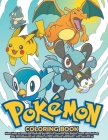 Pokemon Coloring Book: +50 Premium Coloring Pages For Kids And Adults. Pokemon Coloring Book High Quality. Enjoy Drawing And Coloring Them As Cover Image