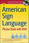 The American Sign Language Phrase Book [With DVD] Cover Image