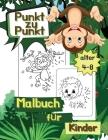 Punkt zu Punkt Malbuch für Kinder Alter 4-8: Die Punkte Verbinden Arbeitsbuch, Herausforderungen zum Ausfüllen und Ausmalen, Kinder-Aktivitätsbuch Cover Image