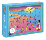 At the Beach: 1000 Piece Puzzle Cover Image