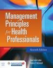 Management Principles for Health Professionals [With Access Code] Cover Image