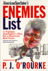 The Enemies List (O'Rourke) Cover Image
